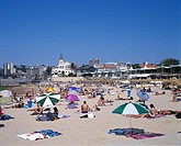 The beach at Estoril. Portugal