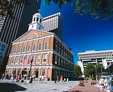Faneuil Hall. Boston. Massachusetts. USA