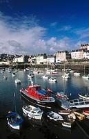 Town & port du Rosmeur. Douarnenez. Brittany. France
