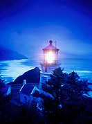 Heceta Head Lighthouse, Oregon. USA