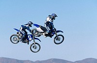 Motocross. Southern California. USA