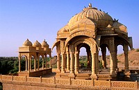 Cenotahps. Jaisalmer. Rajasthan. India