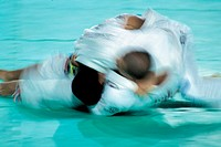 Photo illustrated a judo fight, sport, opponent, fighting, competition,