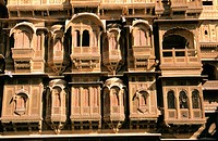 Haveli (typical house). Jaisalmer. India.