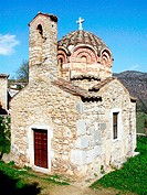 Church of Our Lady of the Annunciation (12th century). Geraki. Laconia, Peloponnese. Greece