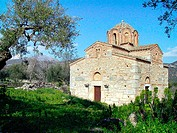 Church of Saint Sozon (12th century). Geraki. Laconia, Peloponnese. Greece
