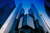 Office buildings. La Defense. Paris. France