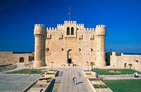 Fort of Qaitbay. Alexandria