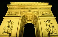 Arc de Triomphe. Paris. France