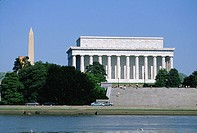 Lincoln Memorial and Washington Monument. Washington D.C. USA