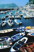 Fishing port of San Sebastian. Guipuzcoa. Spain