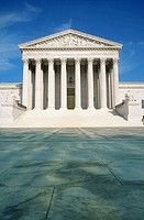 Supreme Court Building. Washington D.C. USA