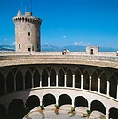 Bellver Castle, 14th century. Palma de Mallorca. Majorca. Balearic Islands. Spain