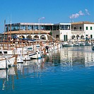 Restaurant. Port of Pollensa. Majorca. Balearic Islands. Spain