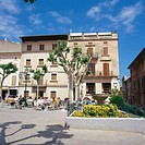 Market Square. Pollensa. Majorca. Balearic Islands. Spain