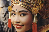 Girl dancer. Bali. Indonesia