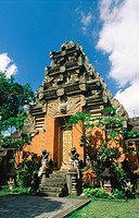 Palace in Ubud. Bali. Indonesia
