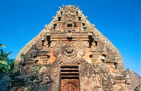 Gate of temple. Bali. Indonesia