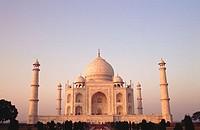 Taj Mahal. Agra. Uttar Pradesh. India