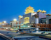 Railway Station. Beijing. China