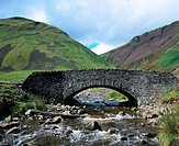 Old bridge near Moffat. Dunfries and Galloway. Scotland