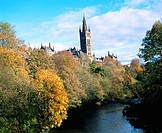 Glasgow University. Kelvingrove. Glasgow. Scotland