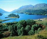 Glenfinnan and Loch Shiel. Highlands. Scotland