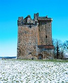 Clackmannan Tower, near Alloa. Clackmannanshire. Scotland