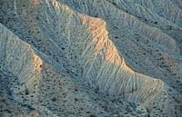 Badlands. Anza-Borrego Desert State Park. California. USA