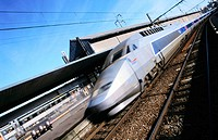 TGV (High-Speed train). Hendaye. France