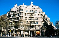 Milà House, aka ´La Pedrera´ (Gaudí, 1906-1912). Barcelona. Spain