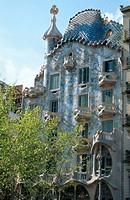 Batll&#243; House (Gaud&#237;, 1904-1906). Barcelona. Spain