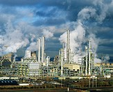 Petrochemical plant. Grangemouth. Scotland