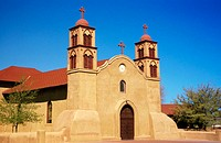 Church. Sorroco. New Mexico. USA