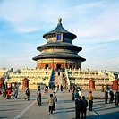 Hall of Prayer for Harvest. Temple Of Heaven. Beijing. China (thumbnail)