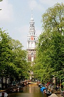 Zuiderkerk (South Church). Amsterdam. Holland