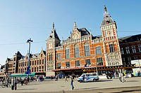 Central Station. Amsterdam. Holland