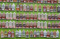 Souvenir refrigerator magnets. Amsterdam. Holland