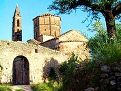 Church of Agios Spiridon at Kardamili village. Messenia, Peloponnese. Greece