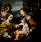 Mystic Marriage of St. Catherine,...by Correggio