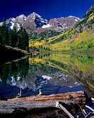 Maroon Bells- Snowmass Wilderness Colorado USA