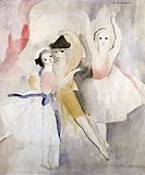 Three Dancers Marie Laurencin (1883-1956/French). Watercolor David David Gallery, Philadelphia