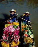 Floating MarketBangkokThailand