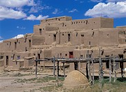 Taos Pueblo New Mexico USA