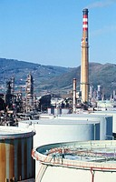 Muskiz oil refinery. Biscay. Spain