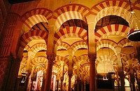 The Great Mosque in Cordoba. Andalusia. Spain
