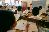 School in Sulawesi. Indonesia