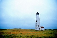 Nantucket lighthouse. Massachusetts. USA
