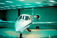 Lear jet aircraft