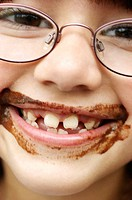 Chocolate smile